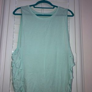 Mint lulu muscle tee